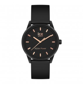 Montre ICE WATCH solar power - Black rose-gold - Small - 3H